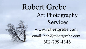 ART PHOTOGRAPHY SERVICES BUS CARD 2